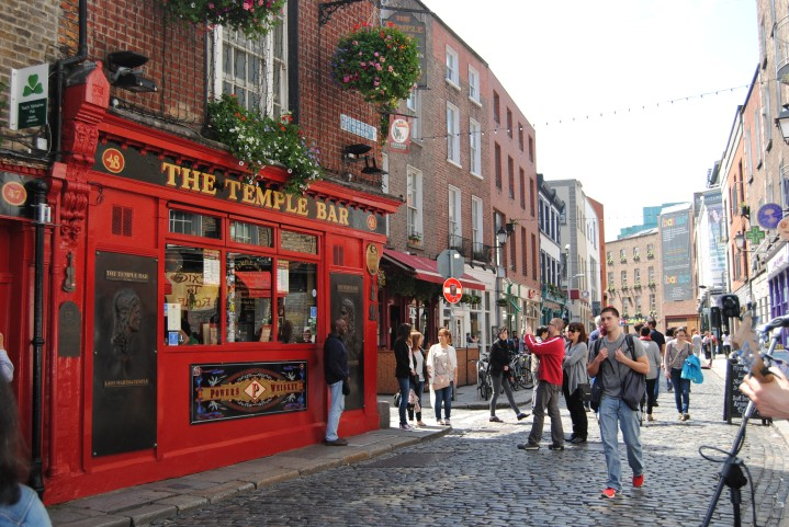 Temple Bar during the day.