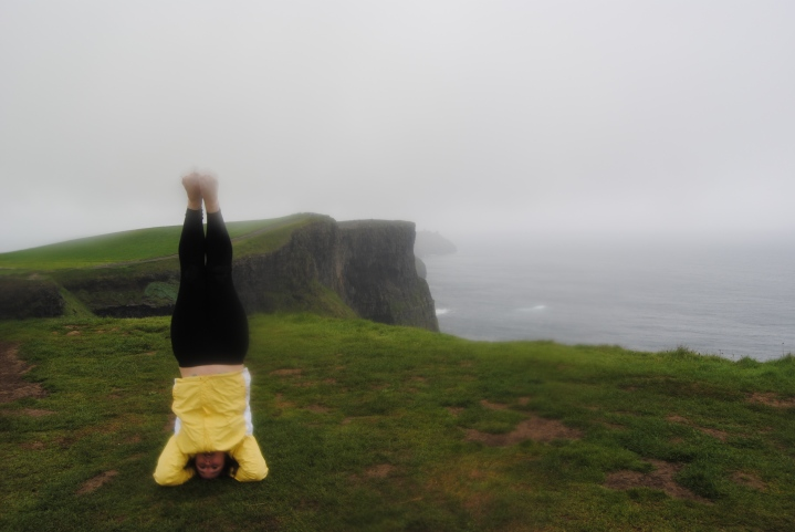 Namaste from the Cliffs of Moher!