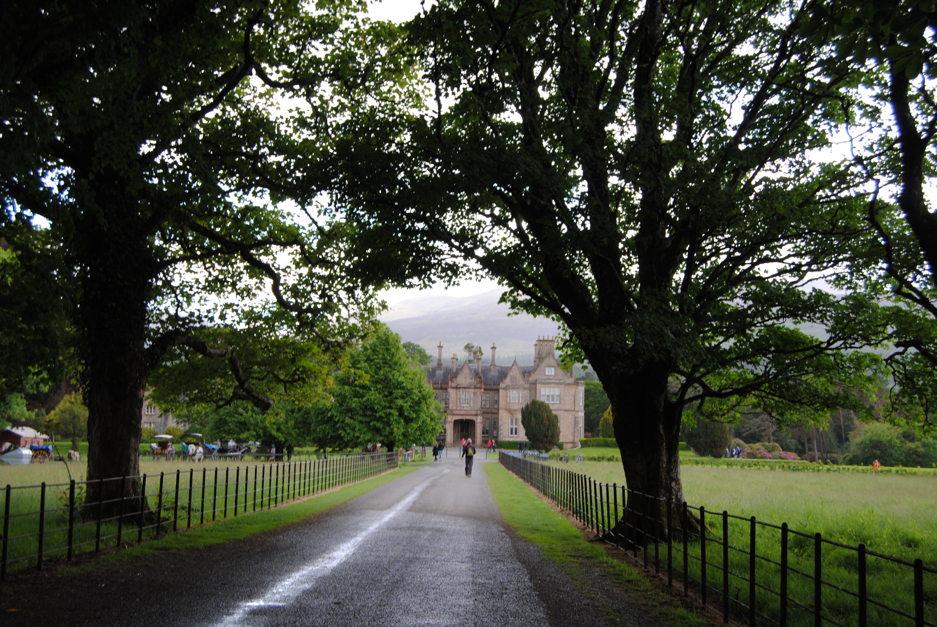 Muckross House on the National Park grounds