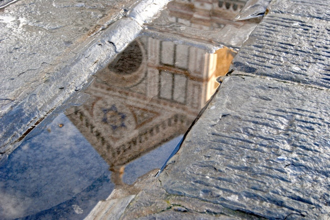 Reflection of the Santa Croce.