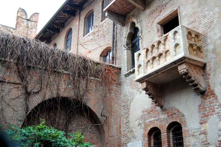 Juliet's balcony!