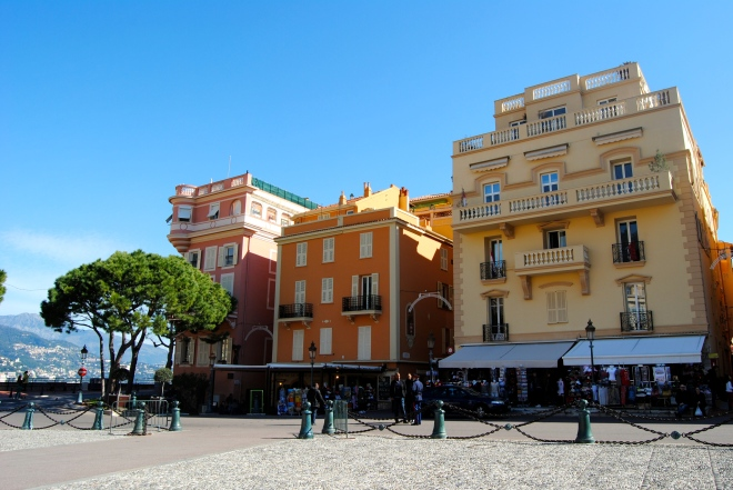 Main square in Monaco.