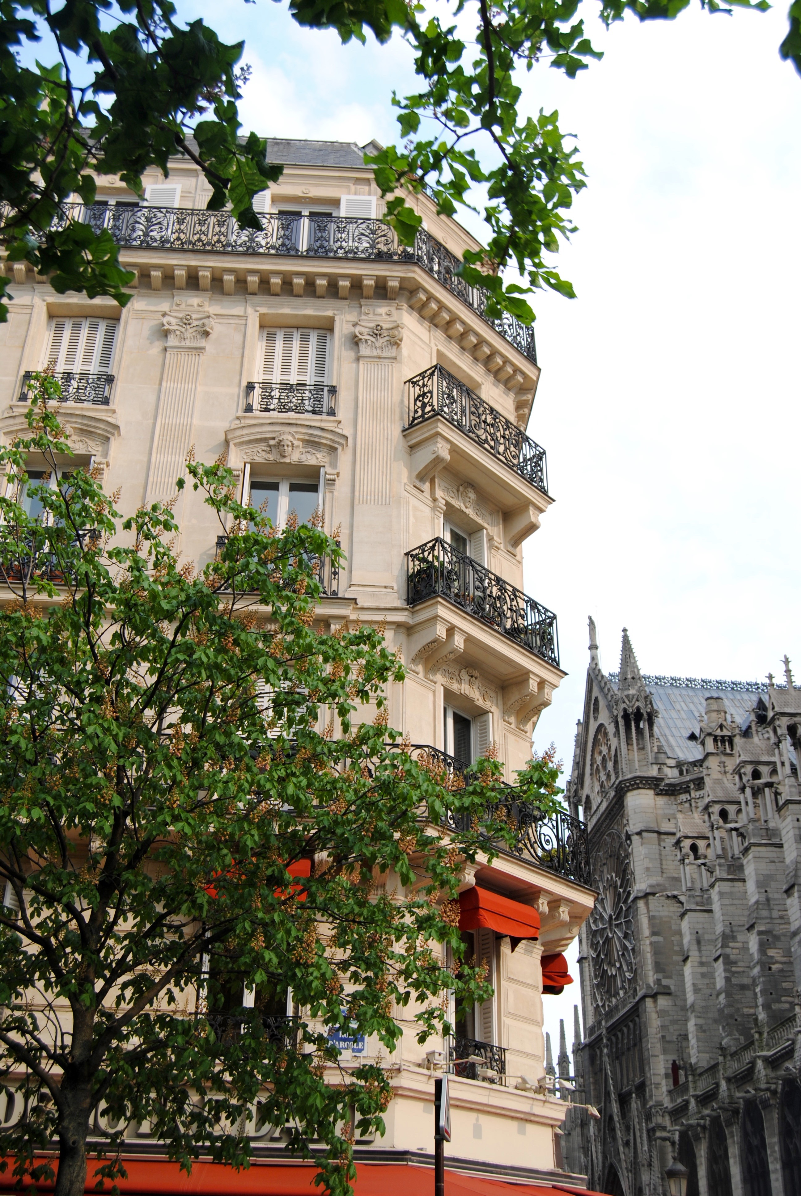 Parisian streets.