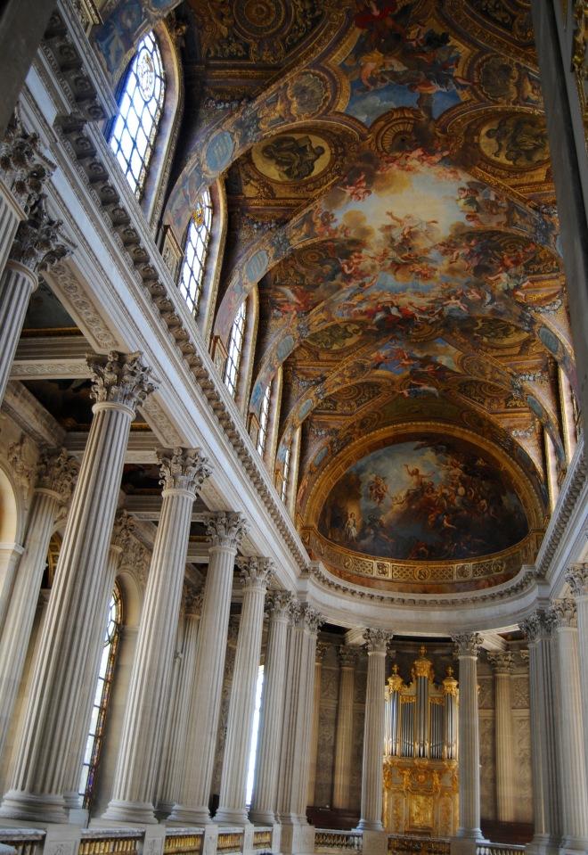 The chapel of Versailles.