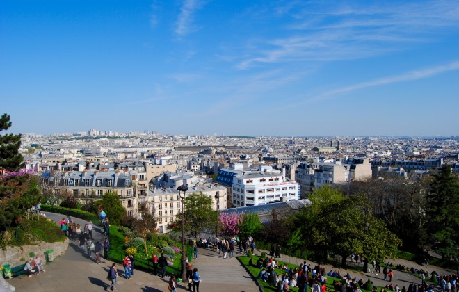 View from the Sacre-Cour.