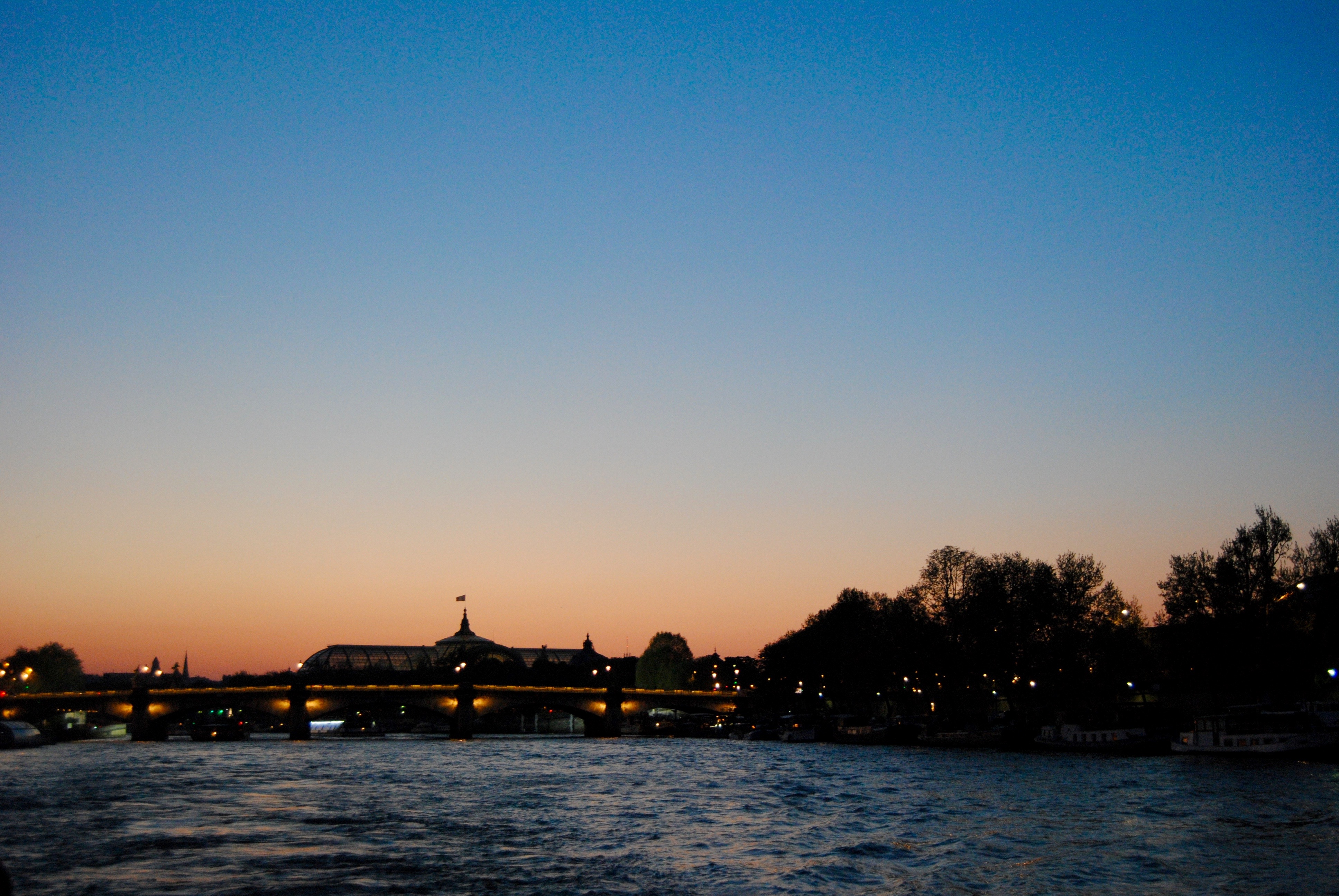 The view on the Seine.