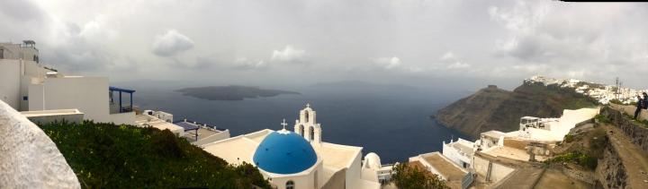 Panorama picture of Firastefani.