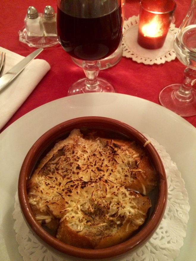 Real French Onion Soup.