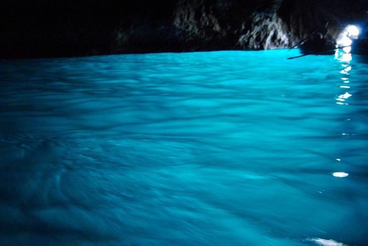 La Grotta Azzurra, or Blue Grotto.